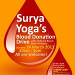 Surya Yoga&#039;s Blood Donation Drive